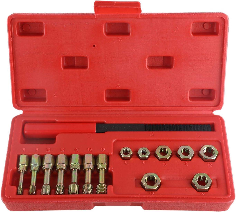 Kastar 2588 6 Piece Metric Thread Restorer Tap Set