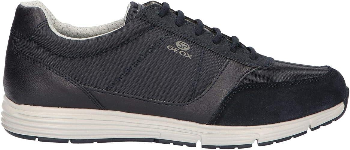 Geox Chaussures de Sport pour Hommes U Dynamic A en Tissu