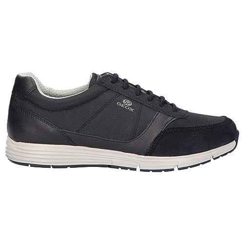Geox Scarpe da Uomo Sneakers U Dynamic A in Tessuto Blu U9276A 011AU C4002