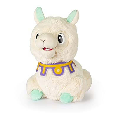 Club Petz, Spitzy The Funny Llama, Interactive Plush Toy, Cream: Toys & Games
