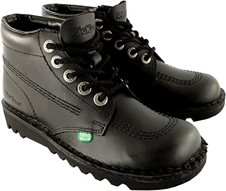 Kickers Boots Back to School Boys Mens Hi Top Leather Girls Women Shoes