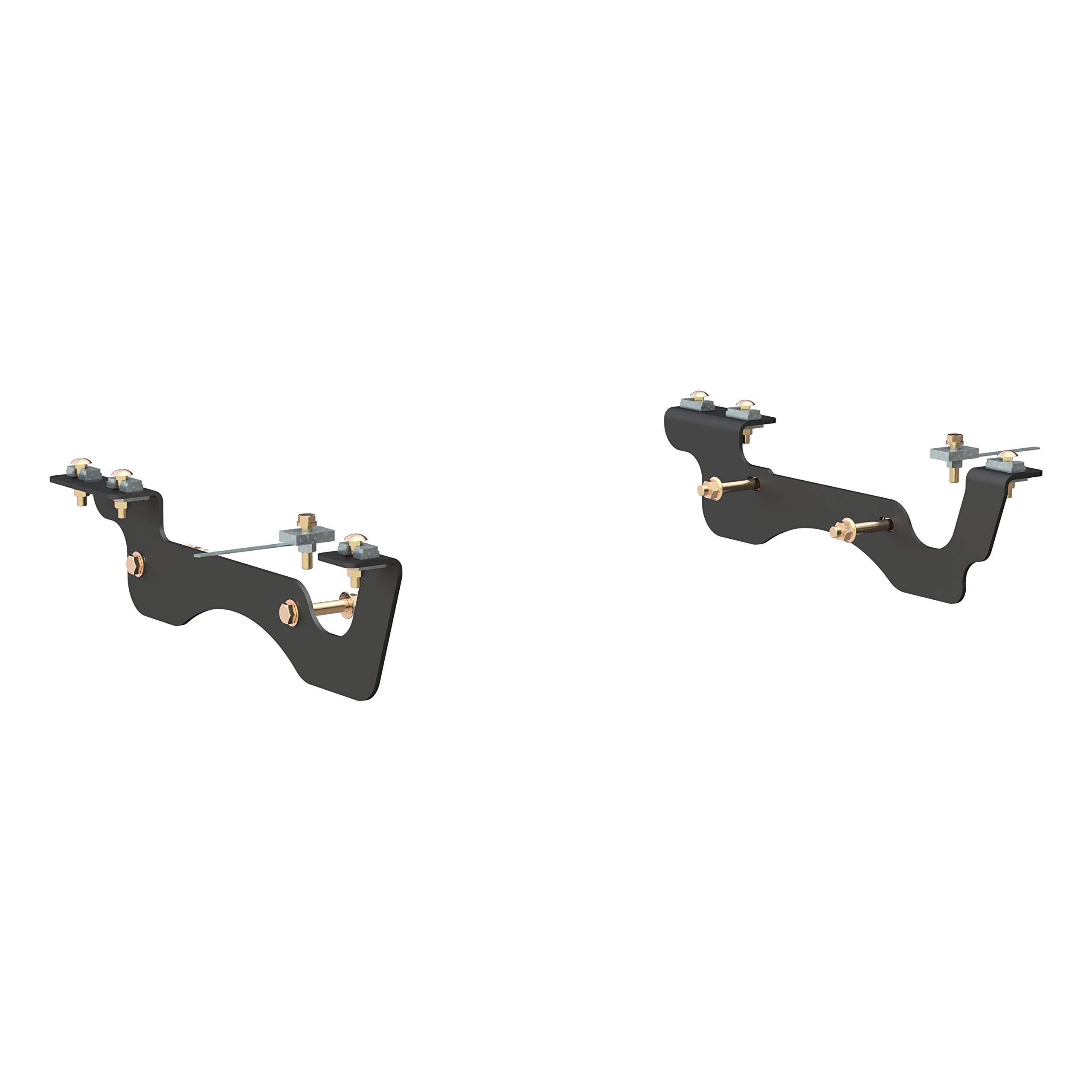 CURT 16428 5th Wheel Hitch Installation Brackets for Select Ford F-250, F-350, F-450 Super Duty