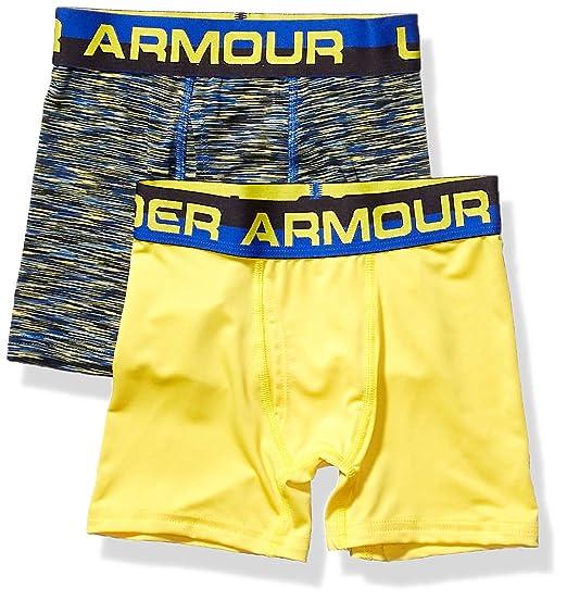 ebd686c6 Amazon.com: Under Armour Boys' Big 2 Pack Performance Boxer Briefs ...