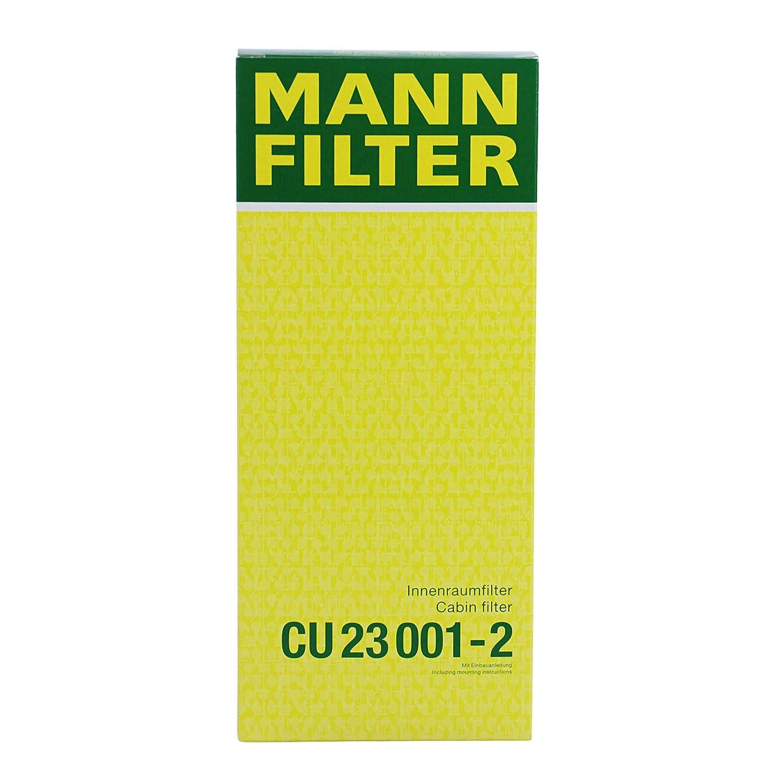 Aria Abitacolo Mann Filter CU 23 001-2 Filtro