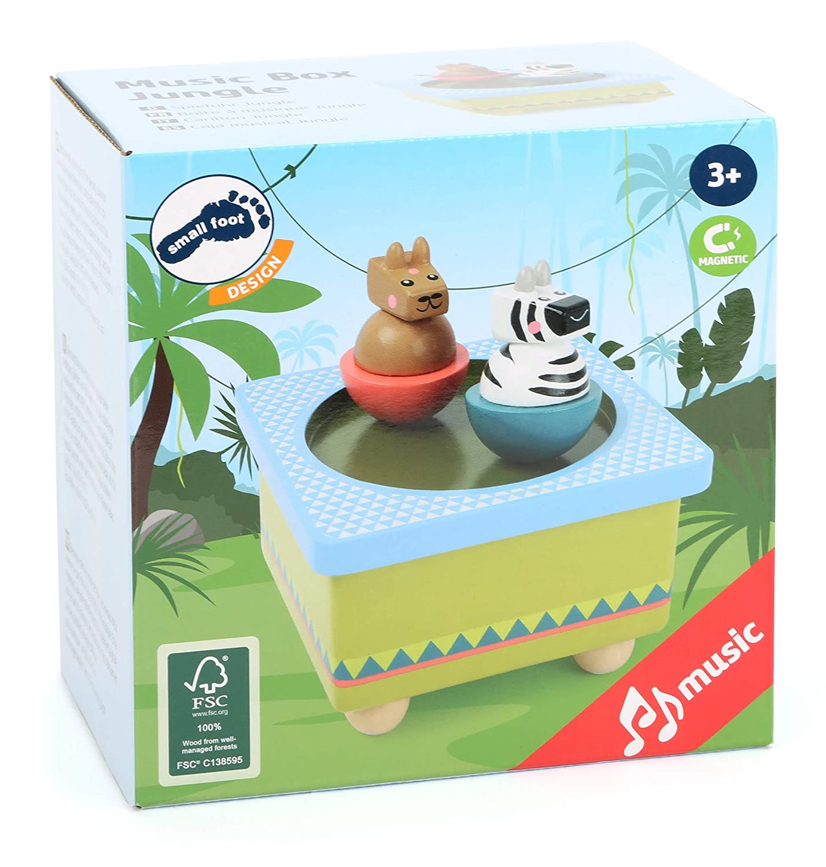 small foot company Wood Music Box Jungle