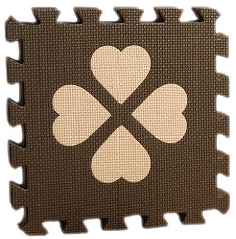 Y-BOA – Juego de 4 pcs alfombra de suelo Puzzle Espuma Antideslizante Decoration antigolpes