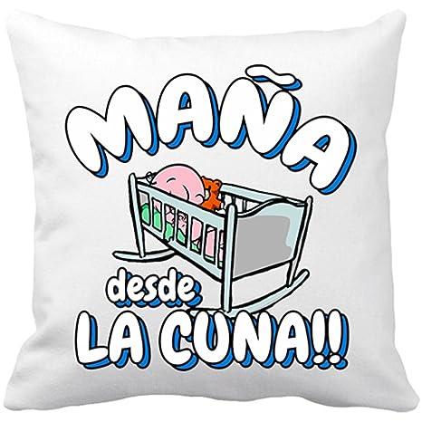 Cojín con relleno Maña desde la cuna Zaragoza fútbol ...