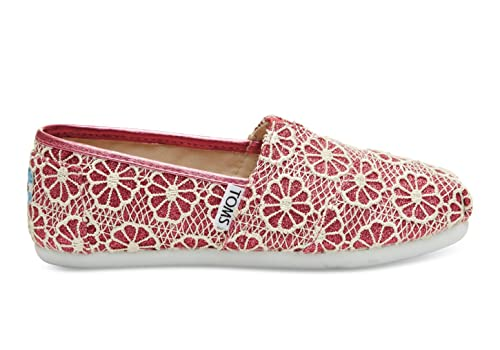 Toms Seasonal Classics Alpargatas Rosa ganchillo - brillante: Amazon.es: Zapatos y complementos