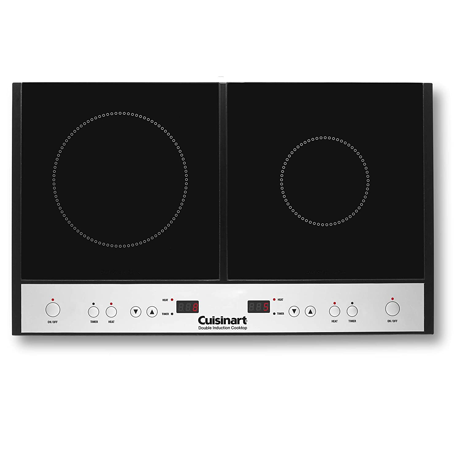 Cuisinart ICT-60 Double Induction Cooktop, Black - Best Induction Cooktop