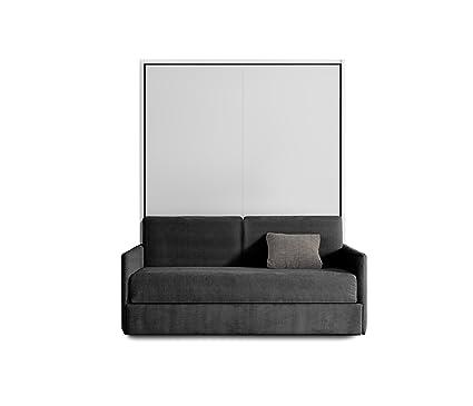 Otto - Cama abatible vertical 140 con sofá: Amazon.es: Hogar