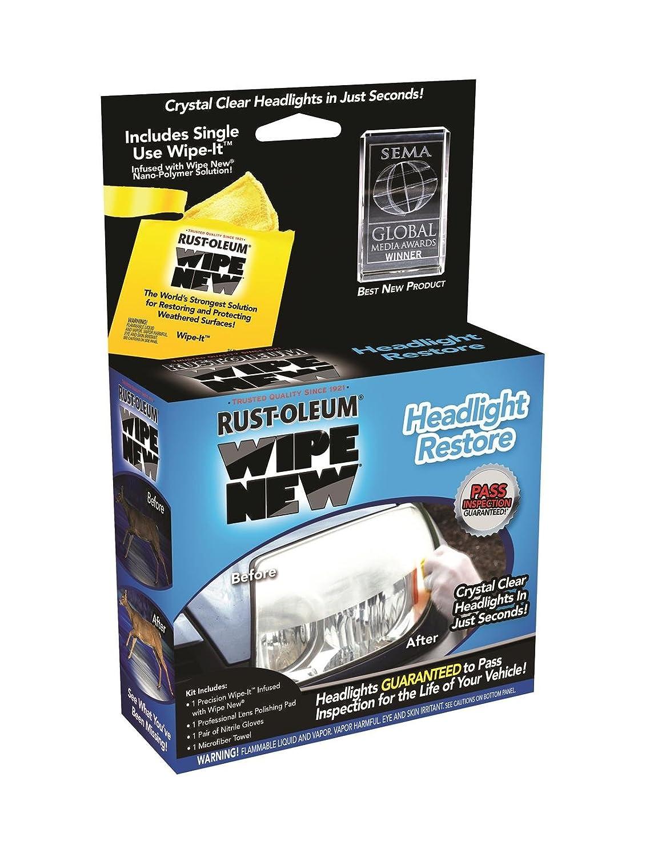 Rust-Oleum Headlight Restore Kit Rust-Oleum Corp/Zinsser HDLCAL