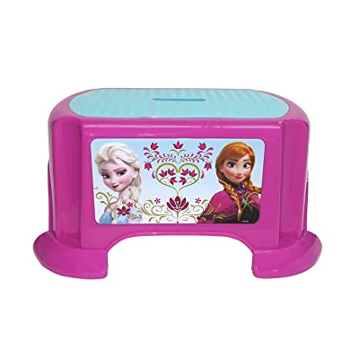 Frozen Disney Sisters Step Stool: Toys & Games