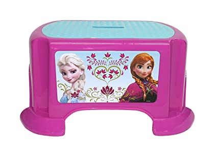 Admirable Frozen Disney Sisters Step Stool Machost Co Dining Chair Design Ideas Machostcouk