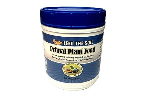 Amazoncom Premium Organic Fertilizer Primal Plant Food Best