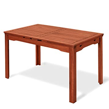 Table rectangulaire en bois naturel 77 x 200 x 70 cm, Mod.Thuya ...