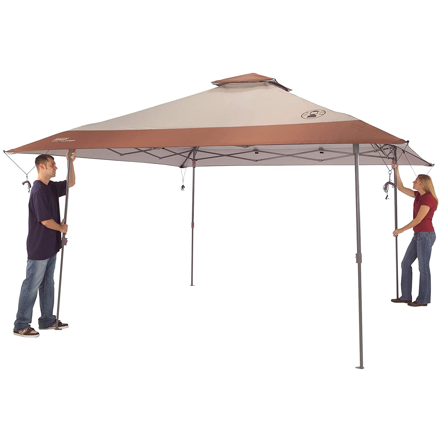 How to setup Coleman Instant Pop-Up Canopy Tent