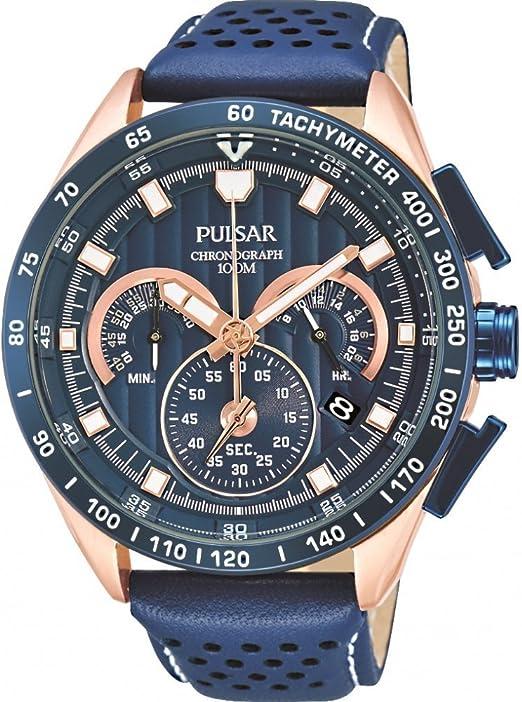 montre pulsar homme bracelet cuir