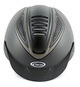 Lami-Cell lamicell Casco Homologado Ultra Light ergonómico Ajustable Mod Cobra, Negro Mate,