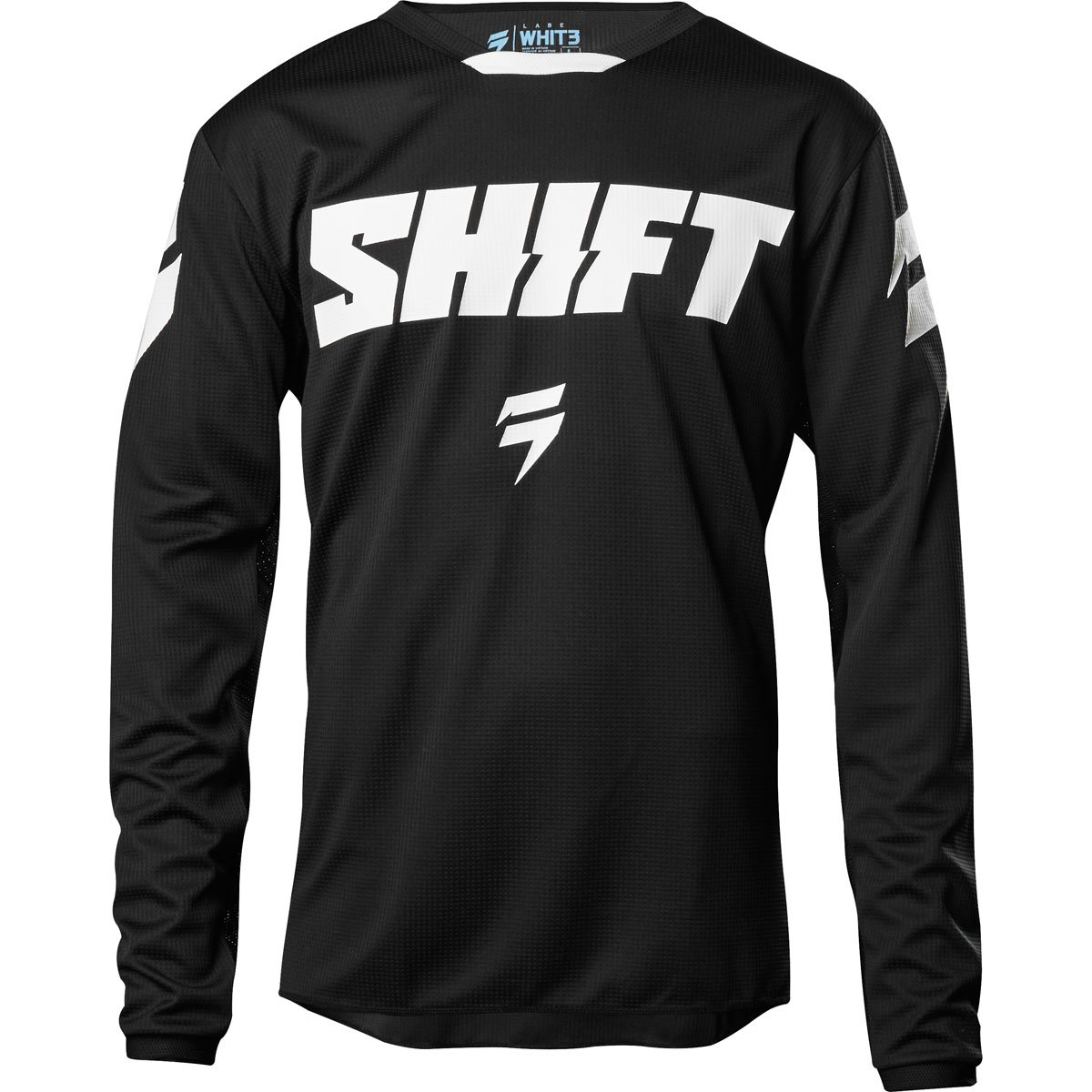 Shift 2018 White Label Ninety Seven Jersey-Black-S