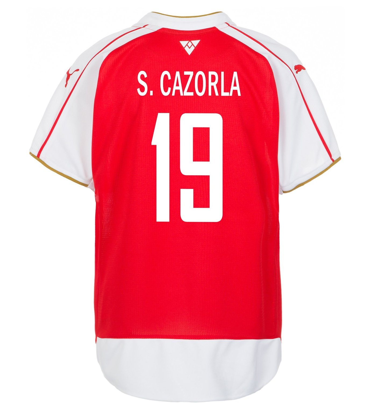Puma S. Cazorla #19 Arsenal Home Soccer Jersey 2015-16 (YOUTH)/サッカーユニフォーム アーセナルFC ホーム用 S. カソルラ 背番号19 2015 ジュニア向け B019J641VY Y-Medium, 韓国再発見 9f14723c