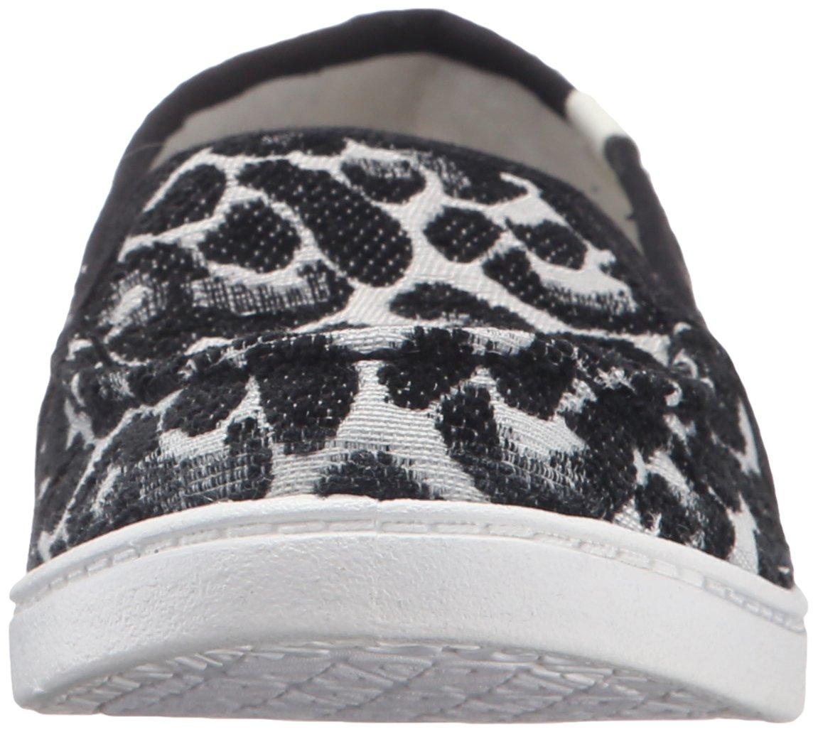 Roxy Women's Lido Iii Slip-on Shoes Flat, Black/Black/Dark Grey, 7 M US by Roxy (Image #4)