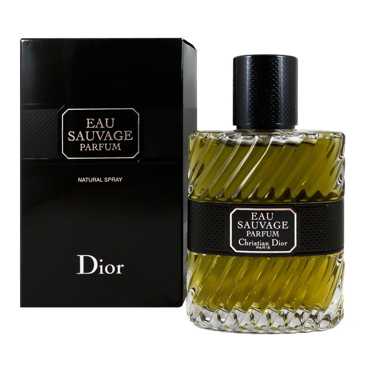 Christian Dior Eau Sauvage Parfum Spray for Men, 1.7 Ounce