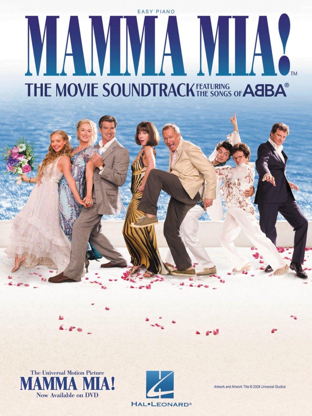 Hal Leonard Mamma Mia - The Movie Soundtrack For Easy Piano: Hal Leonard:  0884088425708: Amazon.com: Books