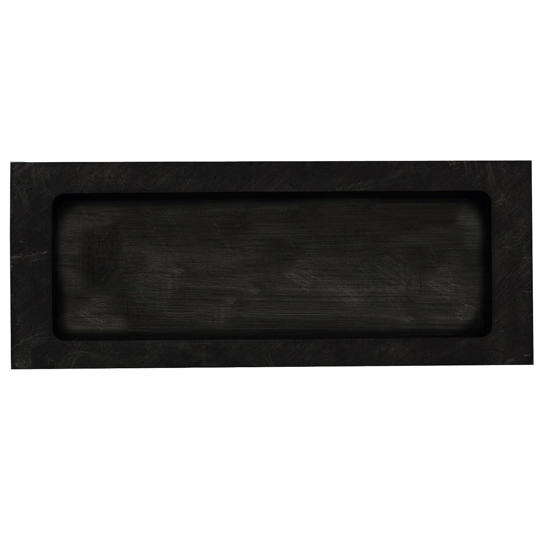 Musykrafties Rectangulares Joyería Vaciado Grafito Molde De Lingote Crisol para fundir De refinación Chatarra Precioso Metal - #1435 125x50x30mm: Amazon.es: ...