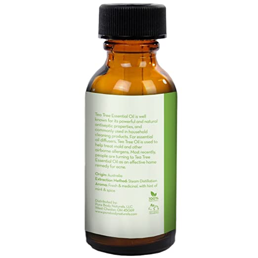 Amazon Tea Tree Essential Oil Tea Tree Oil for Acne Hair and