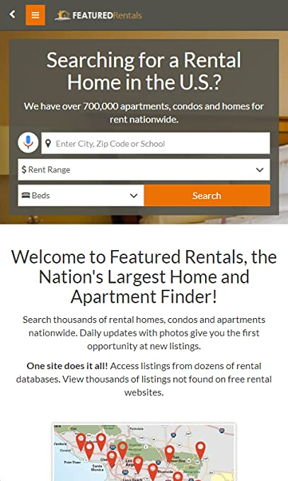 Amazon Com Featured Rentals Apts Homes Appstore For Android