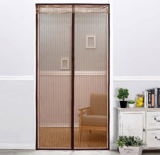 J&SSSU Mosquitera Puerta magnética Cubierta con Cortina de Malla Resistente Cortina para la Mosca Habitación Niños,Fácil Instalación-A 80x200cm(31x79inch): Amazon.es: Hogar