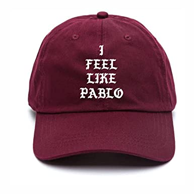 Image Unavailable. Image not available for. Colour  I Feel Like Pablo  Baseball Hat Kanye ... d010387cb836