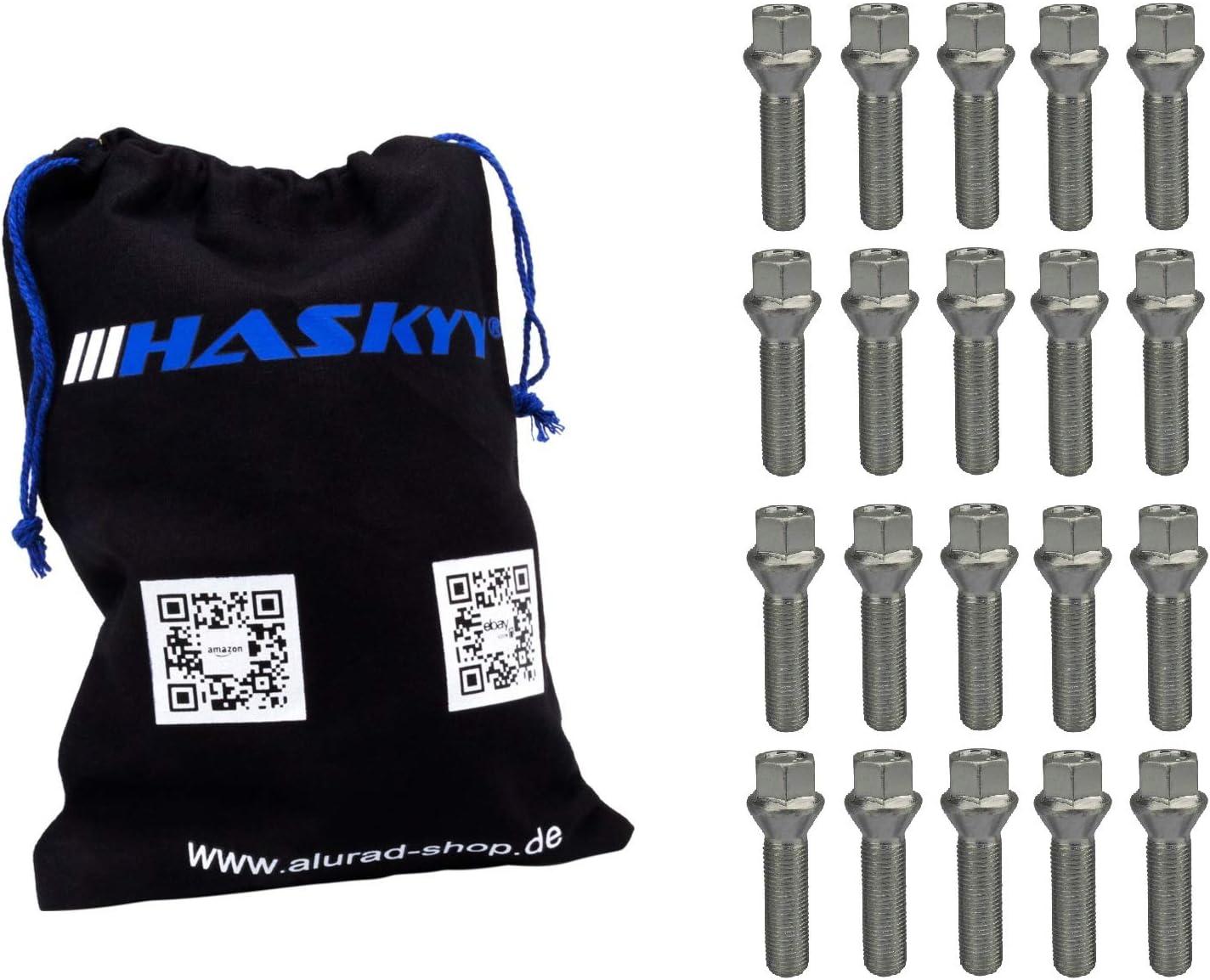 mit Adapter 1-teili Radschraube diebstahlhemmend Codeschlüssel M14X1,5X27,5