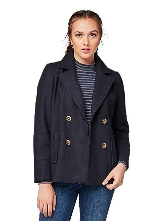 388da9515020 TOM TAILOR Denim für Frauen Jacken   Jackets Schlichte Cabanjacke Deep  Ocean Sea, ...