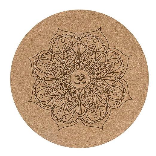 LuMon - Esterilla de Yoga (Goma, 60 x 60 x 3 mm, Antideslizante)
