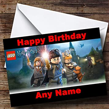Personalised Harry Potter Birthday Card Amazoncouk Office Products