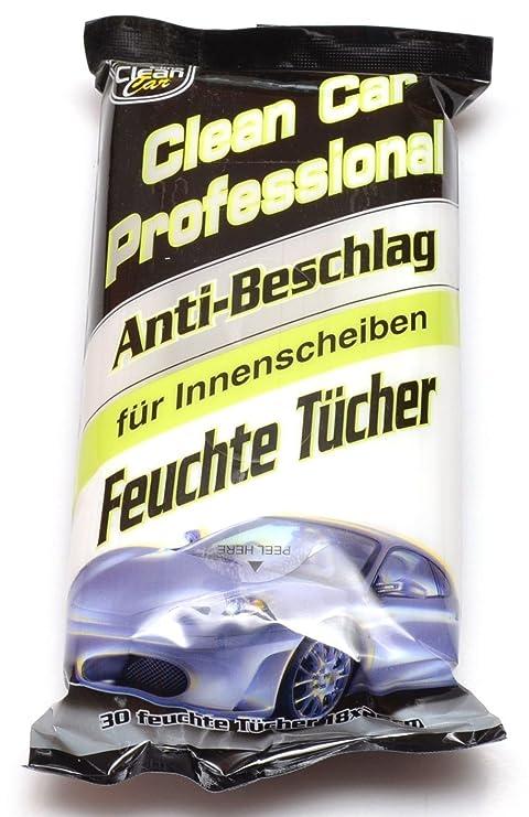 AUTO toallitas húmedas anti-vaho limpiacristales de limpieza de coches