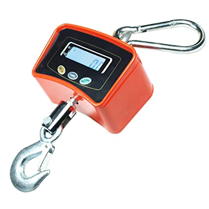 Amazon.com: 500 KG / 1100 LBS Digital Crane Scale Heavy Duty Industrial Hanging Scale weight: Office Products
