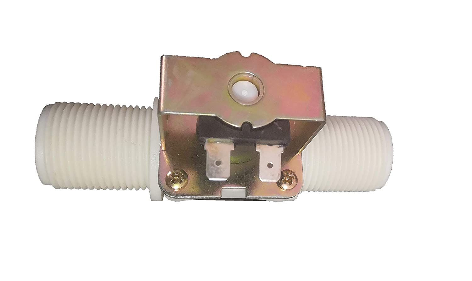 """GREDIA 1"""" DC 12V Solenoid Valve N/C Normally Closed Water Inlet Flow Switch"""
