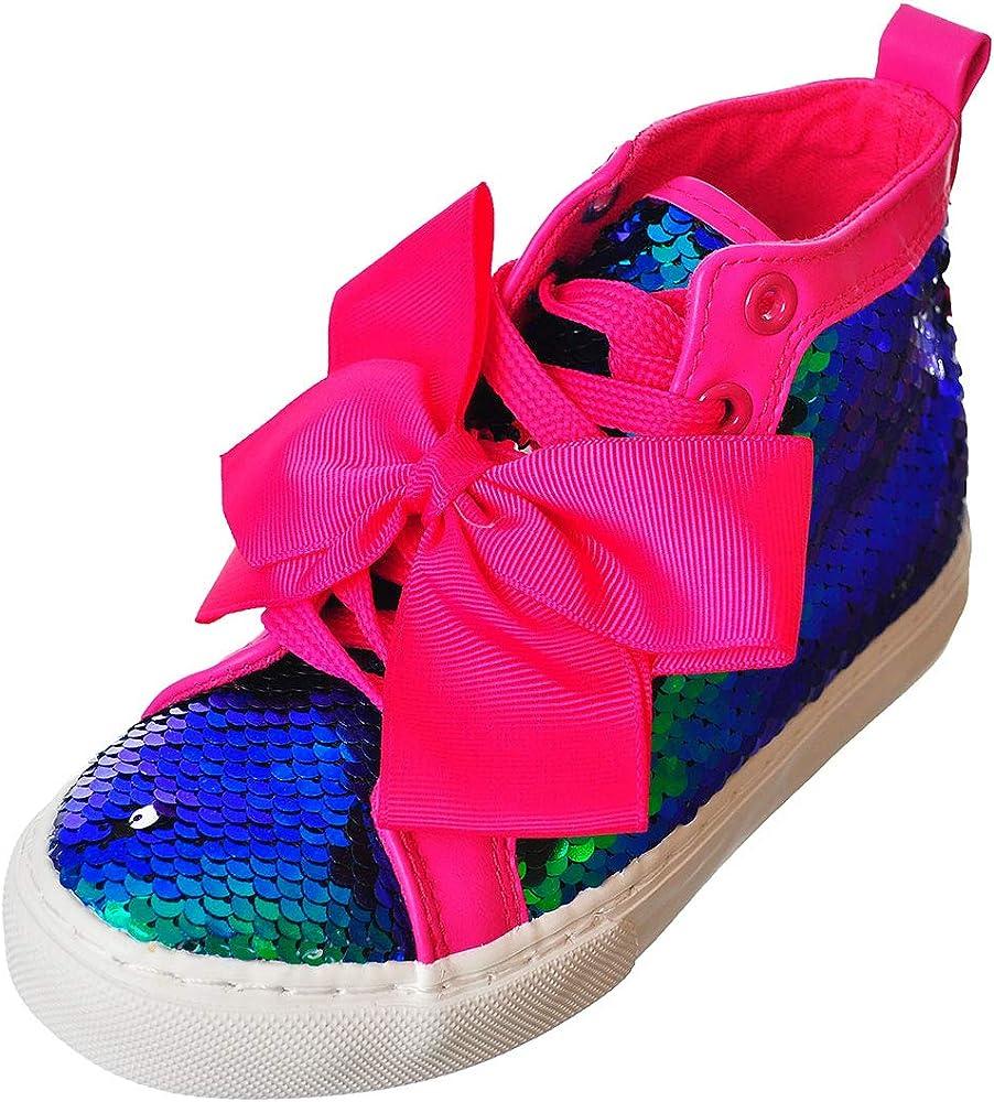 Jojo Siwa Big Girls Hi-Top Sneakers