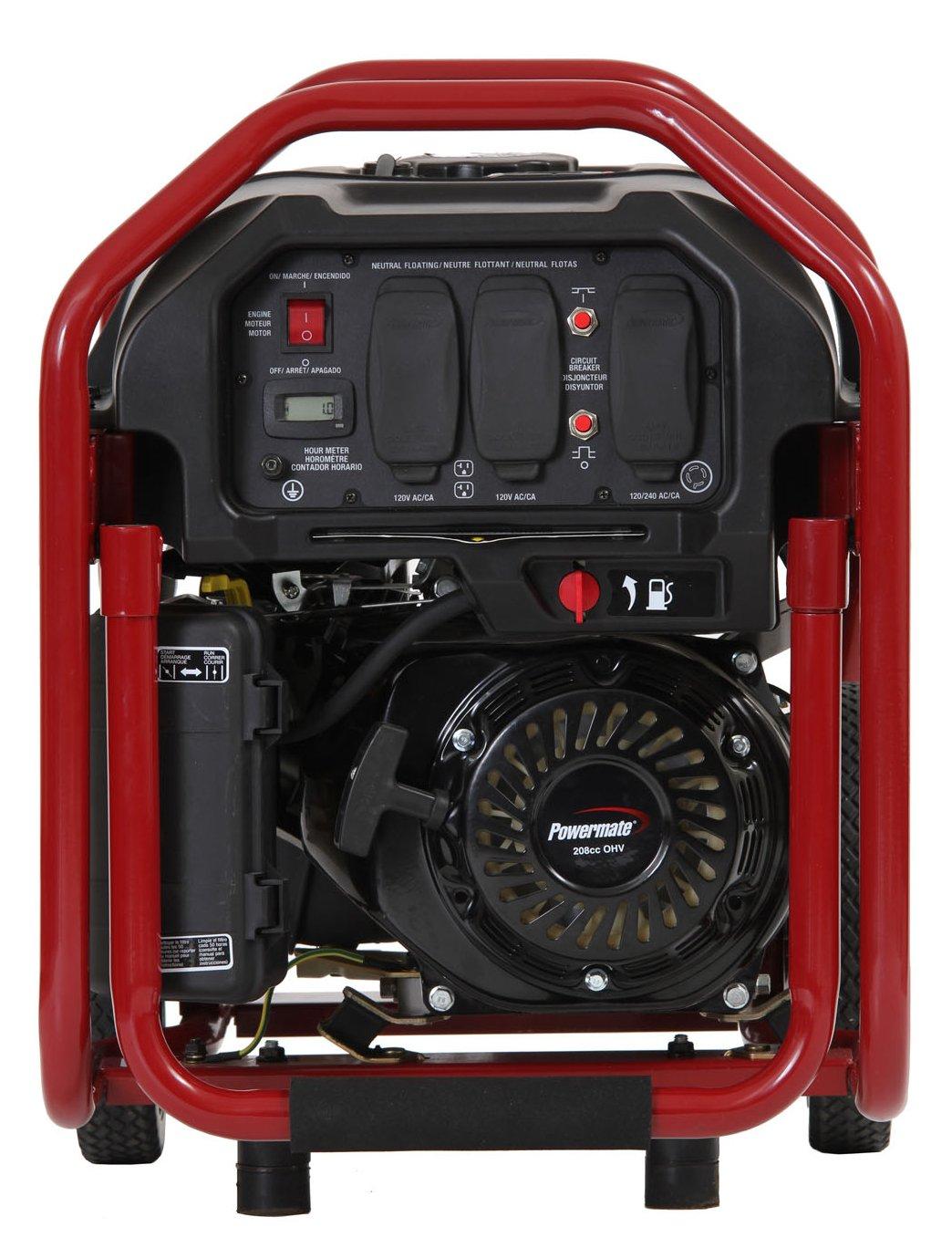 Amazon.com : Powermate PM0123250, 3250 Running Watts/4050 Starting Watts,  Gas Powered Portable Generator : Portable Power Generators : Patio, Lawn &  Garden