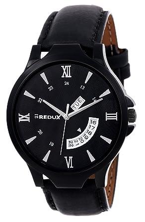 Redux Analogue Black Dial Men S Watch Rws0106