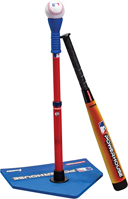 5 PIECES AGES 4 SET INCLUDES 1 BAT PLAY DAY T-BALL /& FOLDING HOME PLATE SET 1