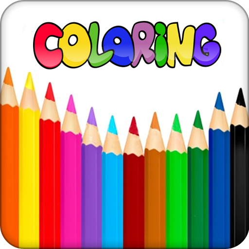 Kids Coloring Doodle Book -