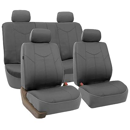 Amazon FH GROUP FH PU009114 Rome PU Leather Seat Covers