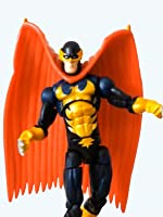 """Marvel Universe 3.75"""" NIGHTHAWK review (Hasbro) Defenders toy action figure"""