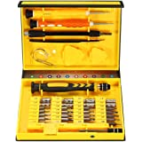 MECO 38 in 1 Cacciaviti Precisione Set Cacciaviti Strumenti Multiuso Riparazione Kit PC, Smartphone, Tablet, Tablet, Laptop, Mac, Watch, Elettronica Tool Ecc