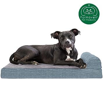 Amazon.com: Furhaven Cama para perro | Sofá ortopédico ...