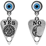Ouija Planchette Earrings by Alchemy Gothic, England