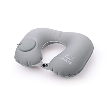 Amazon.com: Snailax Almohada cervical inflable de viaje ...